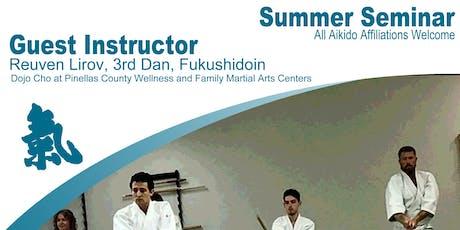 2019 Aikido of Charlotte Summer Seminar  tickets
