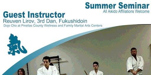 2019 Aikido of Charlotte Summer Seminar