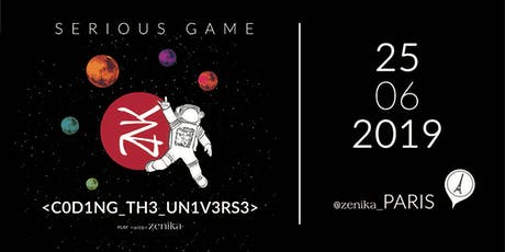 Coding_The_Universe : Le Serious Game de Zenika billets