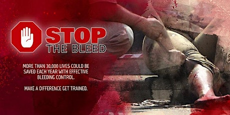 Stop The Bleed. Save A Life. Feb 10, 2020. 1:00pm-3:00pm tickets
