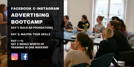 Interactive Facebook & Instagram Advertising Bootcamp Tickets