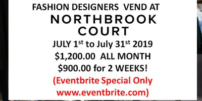 Fashion Designers  Vend at NorthBrook Shopping Mall! (Eventbrite Special ONLY!)