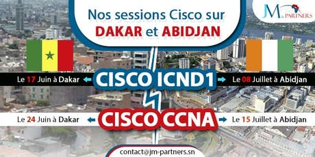 CISCO CCNA - FORMATION ET CERTIFICATION tickets