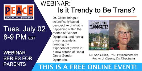 Is It Trendy to Be Trans? tickets
