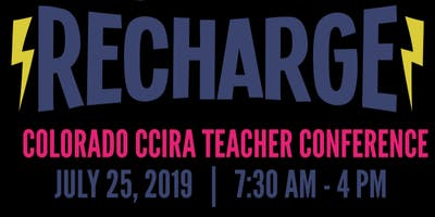 Recharge! Northern Colorado CCIRA 2019 Education Conference