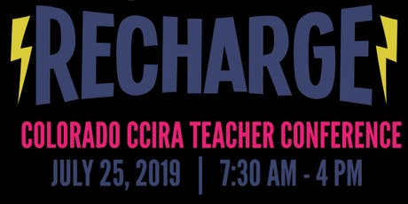 Recharge! Northern Colorado CCIRA 2019 Education Conference tickets