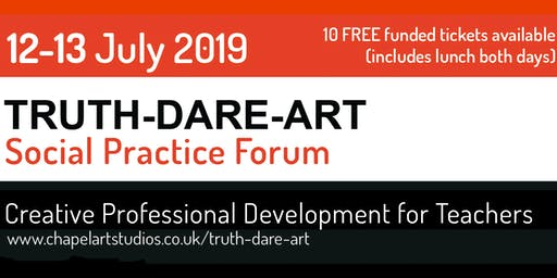 Truth-Dare-Art - Free Registration for 10 teachers