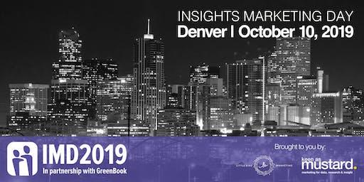 Insights Marketing Day - Denver 2019