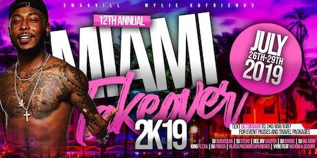 Swagvill x DJ Stevo x DJ QuickSilva x Miami Takeover 2019 tickets