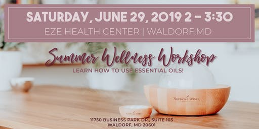 Summer Wellness Workshop