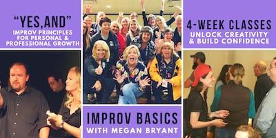 Improv Basics w/ Megan Bryant (Meridian)