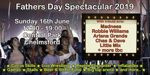 Fathers Day Spectacular 2019 - Chelmsford