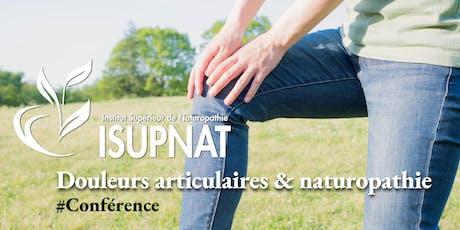 Douleurs articulaires, des solutions en naturopathie tickets