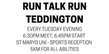 Run Talk Run Teddington tickets