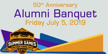 Summer Games 50th Anniversary Alumni Banquet  tickets