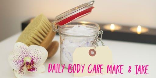 Body Care Make & Take Class