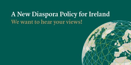 Ireland's Diaspora Policy Consultation - Co. Kerry tickets