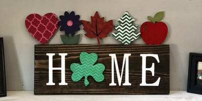 Home Sign Paint Party hosted by Nanette Pickett