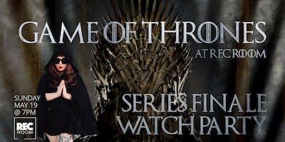 Game of Thrones Finale Screening at Rec Room