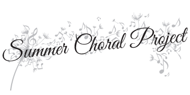 REGISTRATION - Summer Choral Project 2019