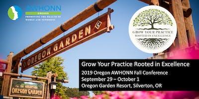 2019 Oregon AWHONN Fall Conference Vendor Registration
