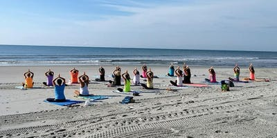 Yoga on the Beach MORNING Session Wednesdays beginning June 5th