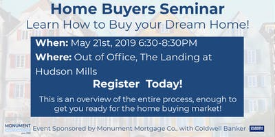 Home Buyers Seminar Presented by Monument Mortgage with Coldwell Banker Residential Brokerage