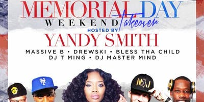 5/25- YANDY SMITH- *HOT 97* VIP YACHT PARTY (Love & Hip Hop) - Memorial DAY Weekend!
