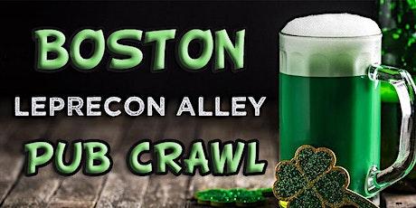 Boston (Fenway) LepreCon Alley St Patrick's Weekend Pub Crawl tickets
