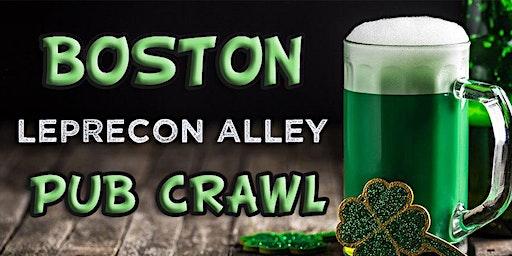 Boston (Fenway) LepreCon Alley St Patrick's Weekend Pub Crawl