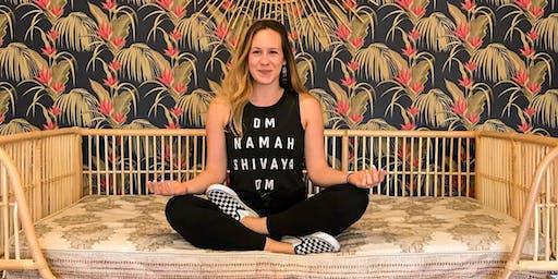 Candlelit Slow-Flow Yoga + Meditation Class