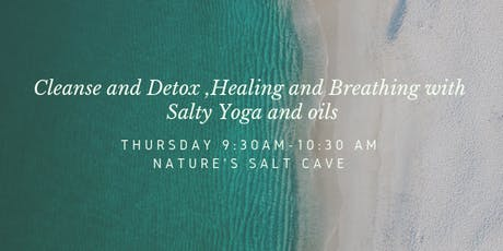Morning Salty Yoga and oils in Salt Cave tickets