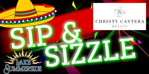 Lake Summerside Fiesta Sip and Sizzle sponsored by Christy Cantera Realty