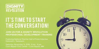 Dignity Revolution Professional Development Training