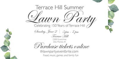 Terrace Hill Summer Lawn Party