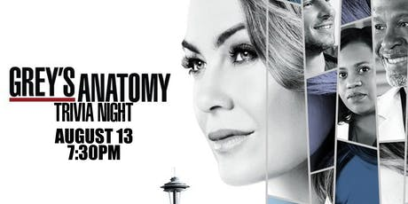Grey's Anatomy Trivia Night! tickets