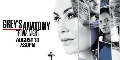 Grey's Anatomy Trivia Night!