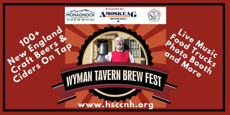 Wyman Tavern Brew Fest 2019 tickets
