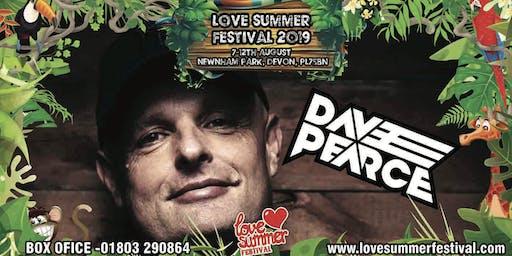 Dave Pearce at Love Summer Festival 2019
