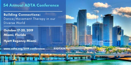 American Dance Therapy Association 54th Annual Conference tickets