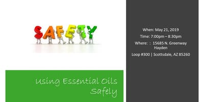 Using Essential Oils Safely