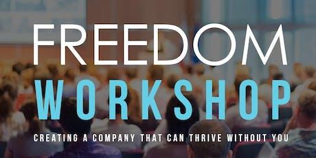 Denver Freedom Workshop - September 28 tickets