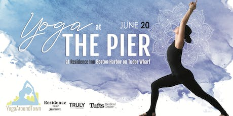 Waterfront International Yoga Day Flow 6/20 With Yoga Around Town tickets