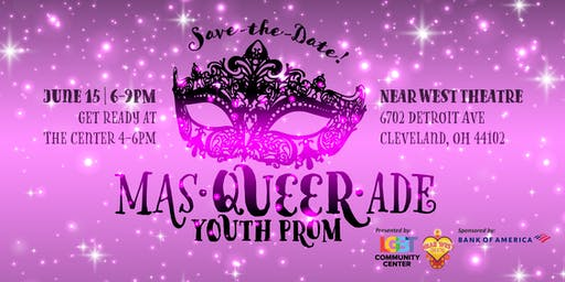 Queer Youth Prom 2019--Masqueerade