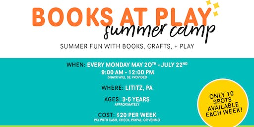 Books at Play Summer Camp