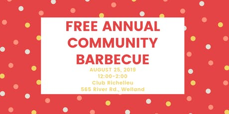 Free Annual Community Barbecue tickets