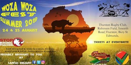 WOZA WOZA FEST SUMMER 2019 tickets
