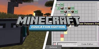 Minecraft Coding  (9-12 anni)