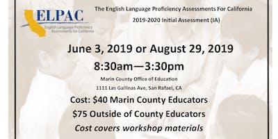 ELPAC Initial Assessment 2019-2020