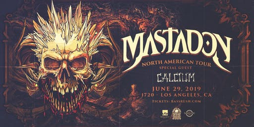 Bassrush presents MASTADON